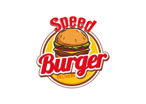 speed burger logo